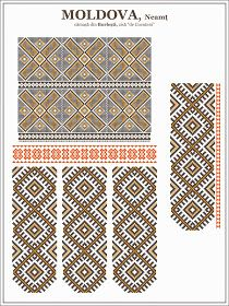 Semne Cusute: Romanian Blouse - MOLDOVA region, Neamt county Moldova, Decor Crafts, Home Decor, Traditional Outfits, Embroidery, Yahoo Search, Rugs, Patterns, Blouse