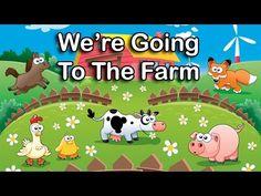 10 Farm Songs For Preschool, Pre-K and Kindergarten Kids