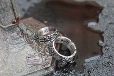 His Till Death Do Us Part Lovers Collection Pair Rings For Him For Her Valentine's day
