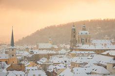 Winter time in #Prague #Praha #Prag #Прага #Praga #プラハ #布拉格 #Czech #Czechia #Travel #Trip #Europe #WithHeartInPrague
