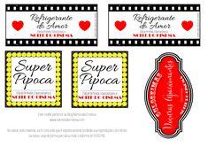 Cinema em casa a dois | Namorada Criativa - Por Chaiene Morais Netflix, Presents, Love, Valentines, Letters, Barbie, Tags, Wallpaper, Movie Theater Party
