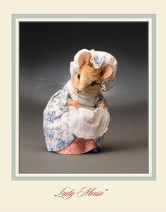 R. John Wright Dolls ~ Lady Mouse