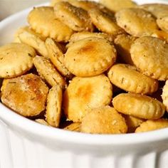 """Ranch Style Oyster Crackers 