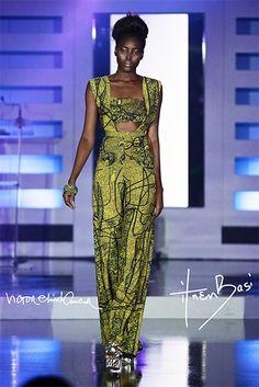 Brand:Ituen Basi Designers:Ituen Basi/ Victor Ehikhamenor Collaboration Event:5th Annual AFI Africa Fashion Awards Ekemini Collection cu...