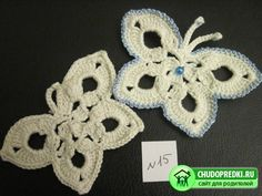 crochet butterfly, a careful instruction how-to