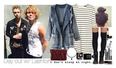 """Day out with Luke and Ashton."" by insanenyc ❤ liked on Polyvore featuring H&M, Tobi, The Cambridge Satchel Company, Chanel and Demitasse"
