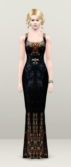 Oscars 2013 _ Nicole Kidman St. _LWren Scott dress by Rusty Nail