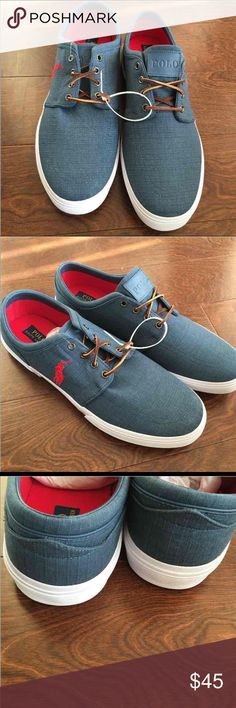 Polo talph Lauren men's sneakers Sz 15 Brand new pair of sneakers missing box Polo by Ralph Lauren Shoes Sneakers