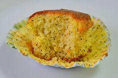 Palavras que enchem a barriga: Muffins de laranja com sementes de papoila
