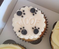 Doggie themed cupcakes xx