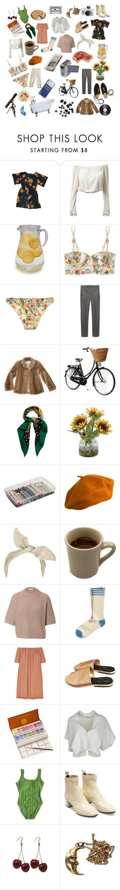 """""""Untitled #1"""" by chloedontsurf ❤ liked on Polyvore featuring Sur La Table, STELLA McCARTNEY, BOSS Black, Pologeorgis, Rosetta Getty, Dolce&Gabbana, Home Decorators Collection, ArtBin, Burberry and River Island"""