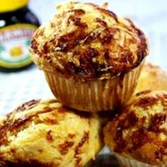 Display on our Marmite Cake Stand 🙂 Cheesy marmite muffins yummy! Display on our Marmite Cake Stand 🙂 Savory Muffins, Cheese Muffins, Savory Snacks, Savoury Recipes, Quick Snacks, Savoury Dishes, Appetizer Recipes, Muffin Recipes, Baking Recipes