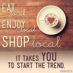 Local businesses are more likely to support local events, schools, charities and sports groups. When you shop at a local business you are supporting your community. Today Is National, Shop Local, How To Make Chocolate, New Job, Farmers Market, Decorative Plates, Artisan, Make It Yourself, Eat