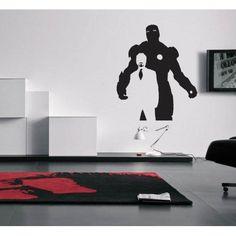 Tony Stark and Iron Man Wall Decal Avengers Shield, Marvel Avengers, Avengers Bedroom, Superhero Family, Geek Decor, Iron Man Tony Stark, Vinyl Wall Decals, Man Cave, Geek Stuff