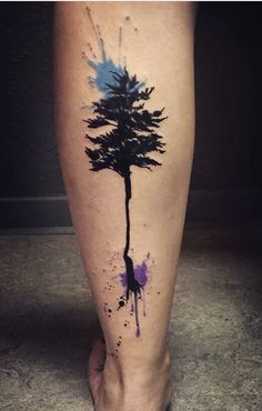 Lina tree tattoo art