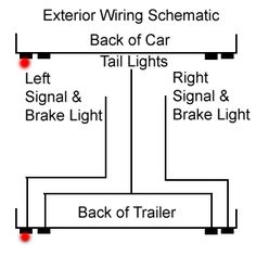 The Complete Vintage Travel Trailer Restoration Web Site Out Side Wiring  sc 1 st  Pinterest : trailer tail light wiring diagram - yogabreezes.com