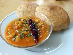 Spicy and very popular breakfast dish in Delhi and North India. - Visit india with us and enjoy indian food