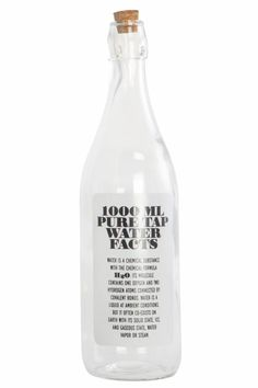 House Doctor Fles Pure Water