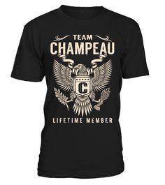 Team CHAMPEAU - Lifetime Member