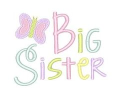 All Designs :: Big Sister Butterfly
