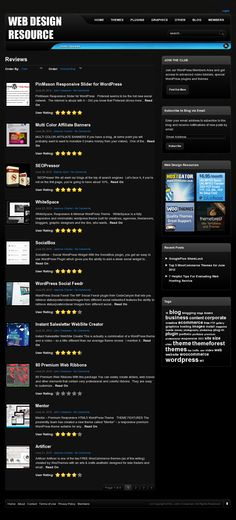 WordPress reviews of themes,plug-ins and tools >> WordPress --> www.webdesigner-resource.com/reviews