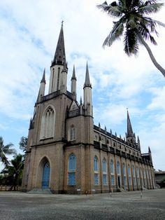 Vimalagiri Cathedral at Kottayam (India) - www.mayaheritagekerala.com