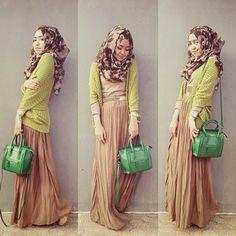 Trend Hijab Terbaru Dini Djoemiko - Cara Memakai Jilbab