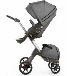 Stokke 2017 Xplory Stroller - Black Melange