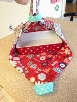 Sew this Super Simple Casserole Carrier - Beginner Sewing with Crystal from A Little Bit Funky