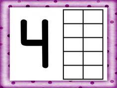 NUMBER & TEN FRAME PLAY DOH WORK MATS {FOCUS NUMBERS 0-20} - TeachersPayTeachers.com