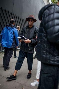 London Men's Fashion Week streetstyle [Photo: Kuba Dabrowski]