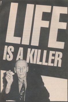 William S. Burroughs. ☚