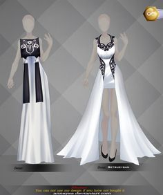 [Open]Adoptable Outfit (Auction) by Anneysa on DeviantArt Anime Outfits, Dress Outfits, Dress Up, Fashion Outfits, Pretty Outfits, Cool Outfits, Disney Princess Fashion, Dress Sketches, Dress Drawing