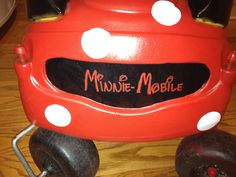 Cozy coupe makeover Minnie Mouse Car, Cozy Coupe Makeover, Little Tykes, Party Party, Best Mom, Grandkids, Furniture Ideas, Bliss, Brooklyn