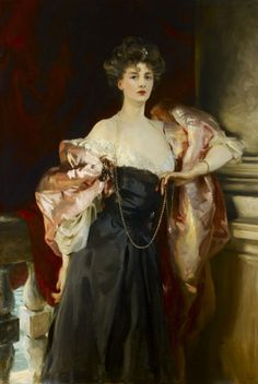 John Singer Sargent, Henry James, pears and lace - a match made in heaven. Clothes in Books