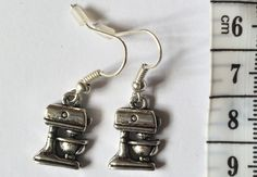 Get ready for the Great British Bake Off with these cute food mixer earrings!