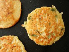 nokdu bindaetteok_mung bean pancakes