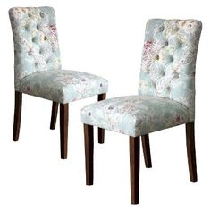 Threshold™ Brookline Tufted Dining Chair Laguna - Set Of 2
