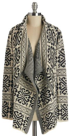 URBAN DAY Cloaked in Cozy Cardigan
