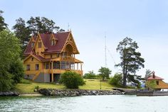 Swedish Summer House   DESDE MY VENTANA