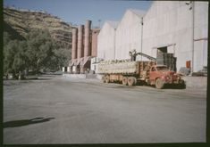 Loading bags of asbestos onto trucks, Wittenoom asbestos mine, Wa Gov, Western Australia, North West, Mount Rushmore, Surfing, Trucks, Writing, Board, Travel