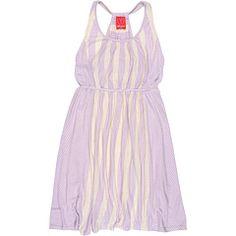 Ella Moss Girl - Calico Stripe Dress (Big Kids)