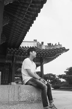 #projectW #black #white #film #canon #eos5 #summer #korea #seoul #changdeokgung #palace