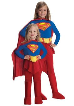Rubies Supergirl Child Costume @ niftywarehouse.com #NiftyWarehouse #Superman #DC #Comics #ComicBooks