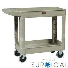Bunzl Distribution Midcentral - 17704500 - 4500-88 Utility Cart, Beige (DROP SHIP ONLY)