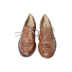 Sapato oxford, Studio TMLS ❤ liked on Polyvore featuring shoes, oxfords, flats, footwear, studio tmls shoes, studio tmls, oxford shoes, flat heel shoes and flat shoes