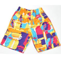 Fabric Material:   100%Fiber   Closure Type: Elastic Waist   Decoration: As Shown in the Pitcures   Thickness:   Standard Fit Type: Loose Fit    Color:   #01,#02,#03,#04,#05,#06,#07   Occasion:   Casual, Beach, Sports   Season:   Summer   Size: One Size       Package included:   1* Shorts        Please Note:                1.Please see the Size Reference to find the correct size.