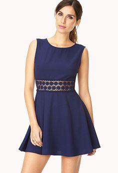 Ladylike A-Line Dress