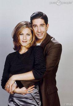 Ross Geller and Rachel Green