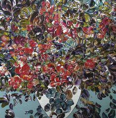 Joli petit bouquet par GAGNON   #Art #Fleurs #Bouquet #Flowers #artwork #artist #artgallery #galeriedart #painting #peinture Artgallery, Art Abstrait, Artwork, Plants, Painting, Small Bouquet, Pretty, Artist, Flowers